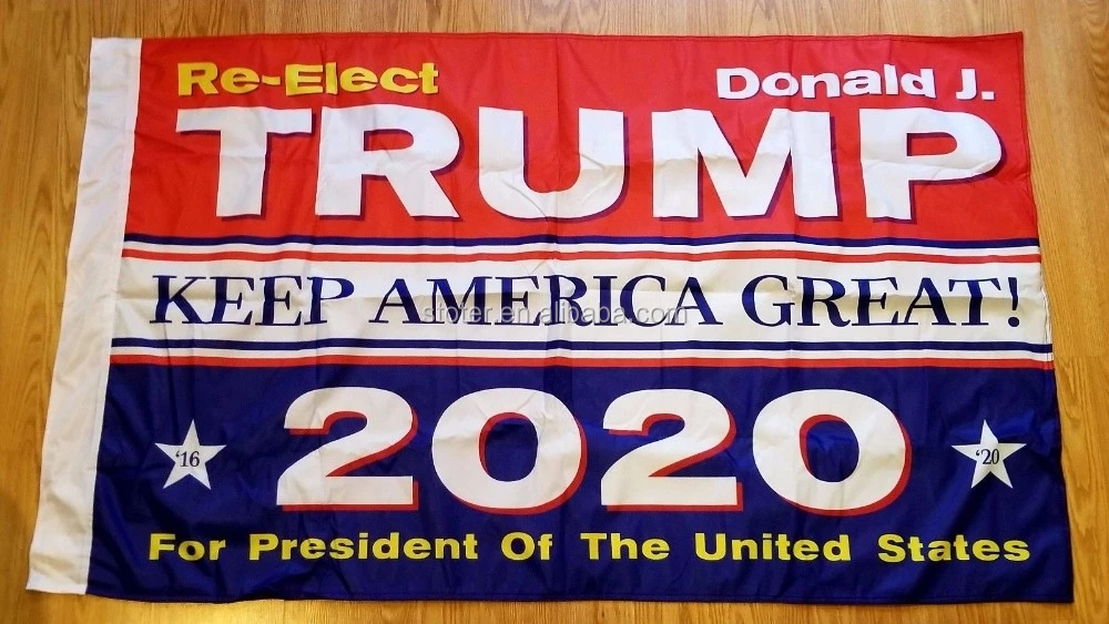 Bulk Supply 2020 Keep America Great Donald Trump Flag Stock Flag