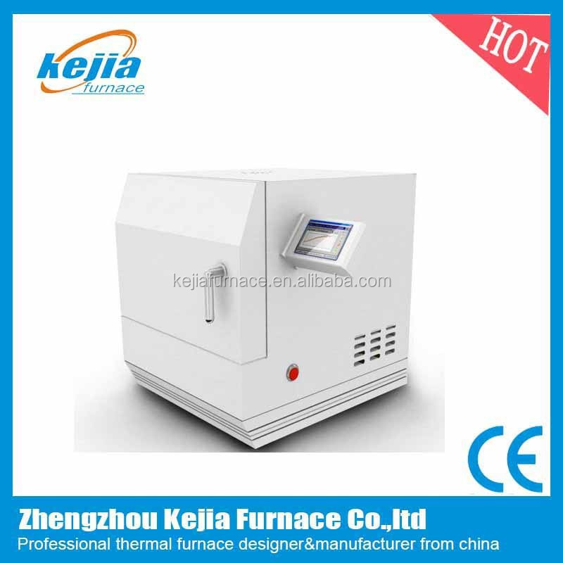 touch screen interface zirconia sintering microwave furnace for dental