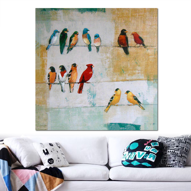 Handmade Oil Painting Of Birds Fine Hand Painted Love Birds Oil Painting Art View Birds Oil Painting Deyi Arts Product Details From Fuzhou Deyi Arts
