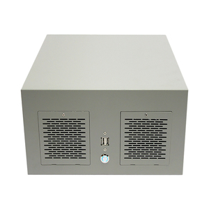 S37 Chassis mini itx wall mounted mini computer pc case 9.6*9.6 inch mainboard