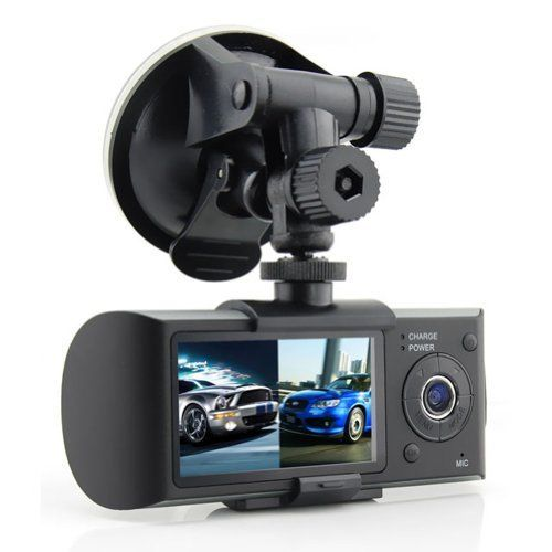 "2018 Dual Camera Car DVR con il GPS e 3D G-Sensor 2.7 ""TFT LCD X3000 Cam Ciclo di Video registrazione Digitale Zoom"