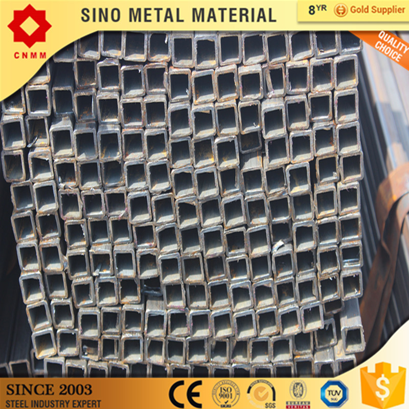 small sized cold bend seamless square tube/pipe s275j0 erw hot rolled galvanized rectangular tube