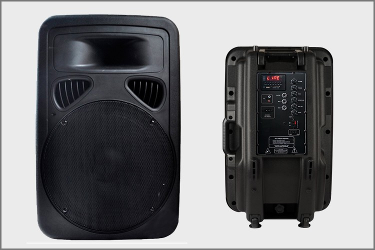 Outdoor Stage Trolley Loudspeaker Powered Rechargeable