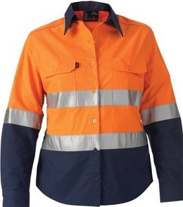High visibility workwear shirt