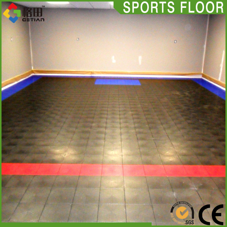 Flexible Price Sport Court Roller Hockey Skate Tiles