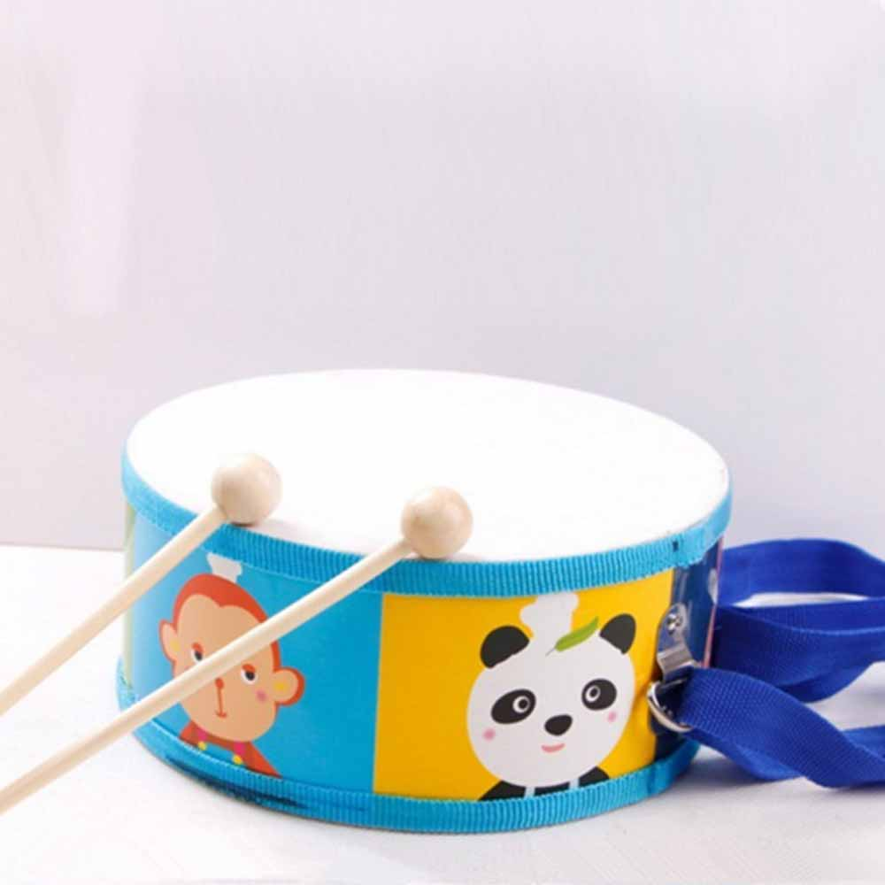 Wooden Musical Toys Mini Marching Snare Drum