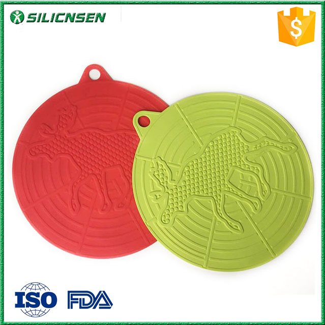 Eco-friendly silicone rubber drink coaster,beer coaster, soft cup pads