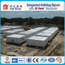 20ft and 40ft labor camp multi function perfab container house