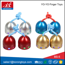 wholesale relieve stress new metal funny mini flashing light spinning toy with light BS5