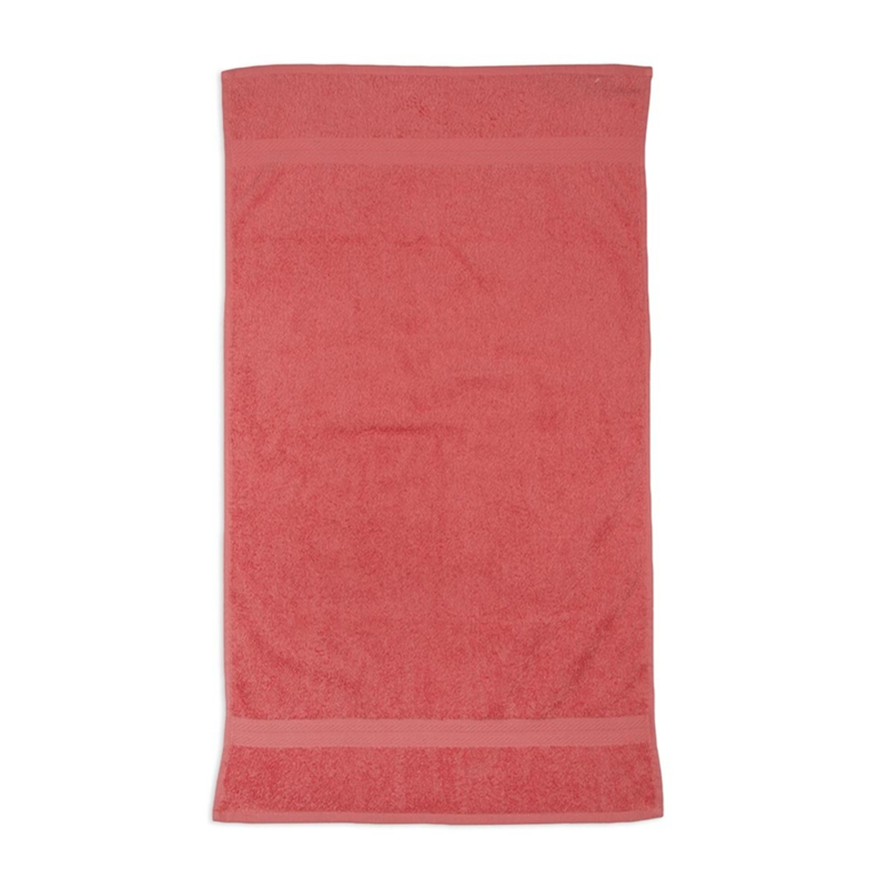 Cotton hand towel manufacturer supplier red Hand/face Towels