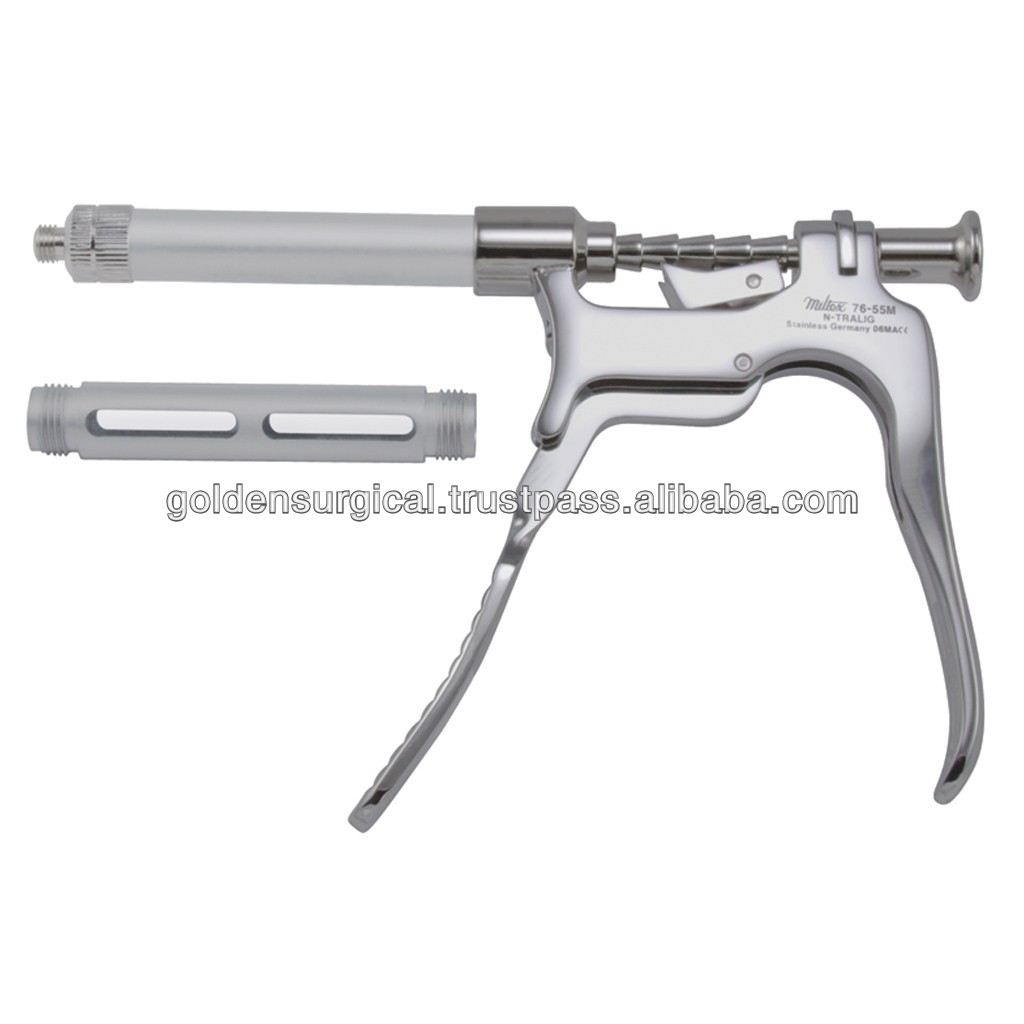 FAT SYRINGE INJECTION GUN 0.5ML C Type Veterinary Continuous Syringe Veterinary Automatic Injection Gun WJ132
