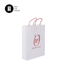 Recyclabe custom cheap wholesale shopping bags kraft paper bag printed with logo