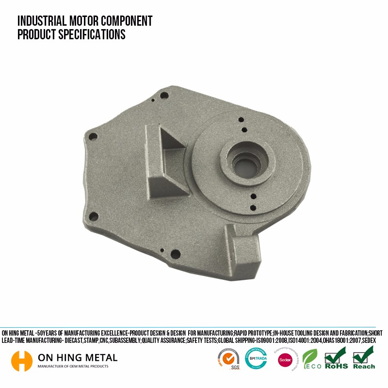 Exported Standard pallets included carton package zinc alloy die casting products