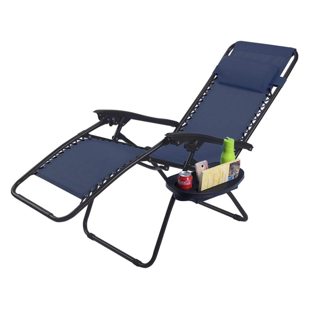 Outdoor folding modern zero gravity lounge chair recliner zero gravity chair