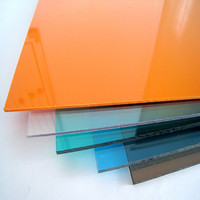 100% virgin raw material with UV blocking unbreakable glass lexan polycarbonate sheet