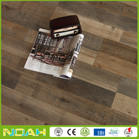 Kentier 12mm v-groove low glossy laminate flooring 6053-301