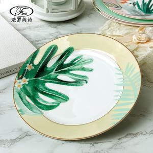 Chinese dinnerware set with bird design