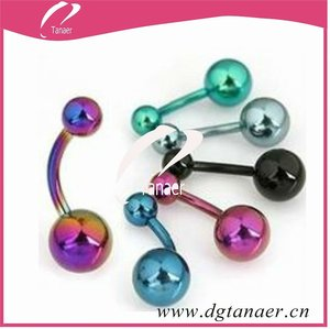 body jewelry 16 gauge navel rings