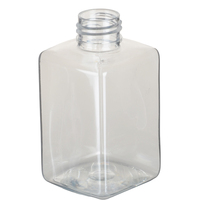 150ml Empty Clear Plastic PET Bottle Square Lotion Bottle Travel Set