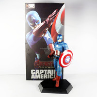 "New Crazy Toys Avenge Age of Ultron Captain America 19cm/7.4"" Action Figure"