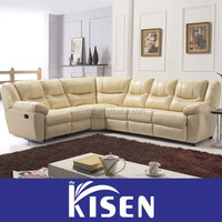 Modern sectional recliner hide a bed sofa