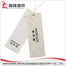 factory custom best price fancy clothing hang tags