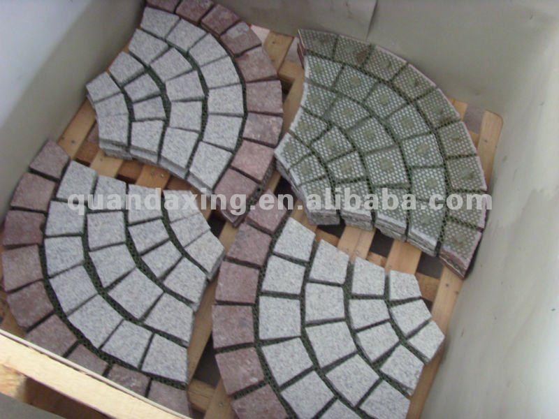 granit pflastersteine ozeanischen rot und g603 fan muster pflasterstein pflastersteine produkt. Black Bedroom Furniture Sets. Home Design Ideas