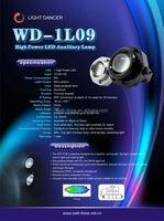 Oledone Epistar 9w LED DRL WD-1L09 motorcycle motocross led light ip68