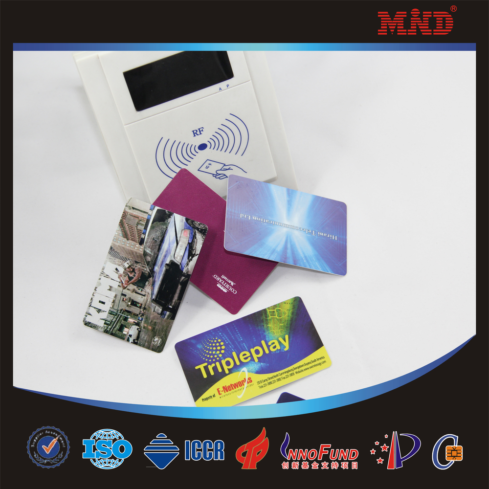 Mdc1160 13.56mhz Transparent Smart Card/ Rfid Business Card ...