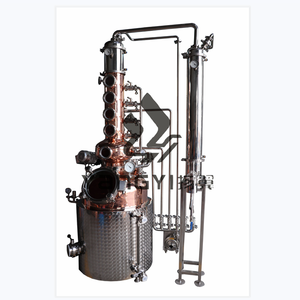100l copper boiler distillation moonshine alcohol distillery equipment