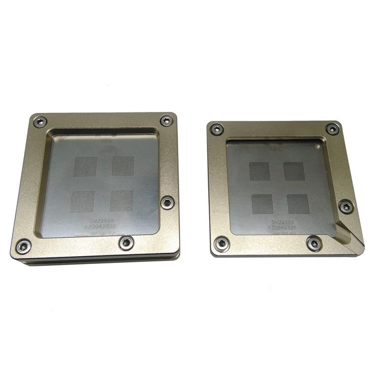 SM2256K Pogo Pin Reballing Tool Reballing Jig Rework Station For IC Refurbished Solder Ball Mounting Reballing Machine
