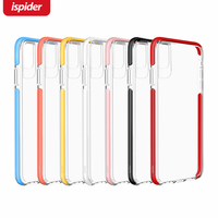 New innovative products 2019 Brand Designer 2 in 1 Hybrid Clear Colour Mobile Phone Covers for iPhone XR