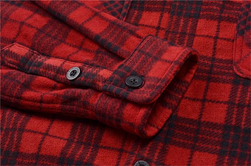 Casual Polar Fleece Shirt,polar fleece plaid shirt ,lightweight fleece shirt