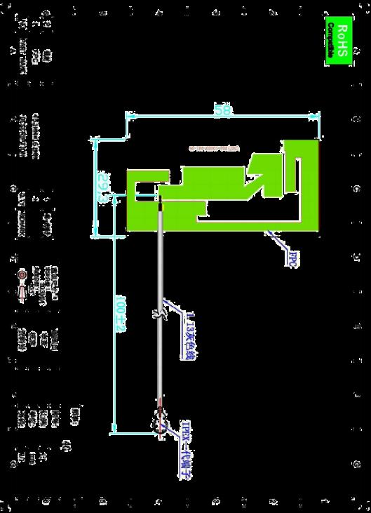 Original 2dBi built In full band circuit board antenna 4g fpc