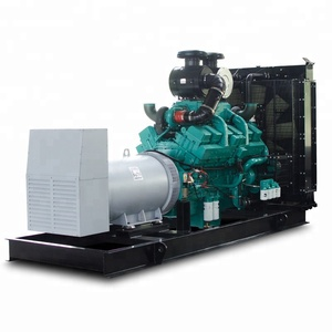 1000kva electric power plant 800kw diesel generator with Cummins engine KTA38-G2A and Stamford alternator