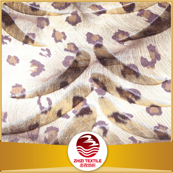 Keqiao 100 polyester distribution bag yarn dyed textile printing