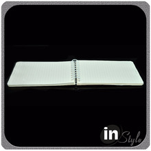 5x7 <span class=keywords><strong>notebook</strong></span>, squared taccuino rilegato a spirale, copertura di plastica a spirale <span class=keywords><strong>notebook</strong></span>