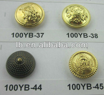 brass military uniform buttons 14-54L, View brass military uniform buttons  14-54L , LB Product Details from Ningbo L&B Import & Export Co , Ltd  on