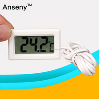 Anseny Digital thermometer TPM-10 Mini digital refrigerator thermometer HT-1 for fish tank