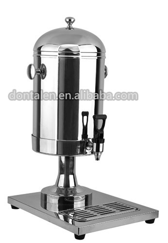 Deluxe Stainless Steel Water Dispenser Cold Milk Tea Dispenser