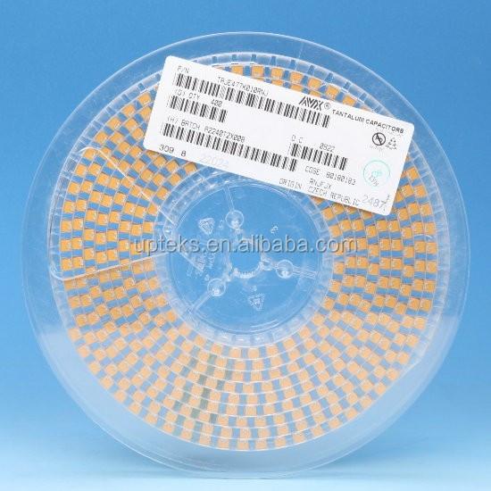 Taje477k010rnj Avx 477 Smd Tantalum 470uf 10v Solid Capacitor ...
