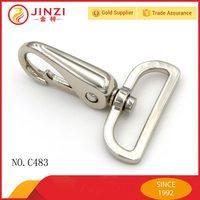 zinc alloy heavy duty handbag big snap hook