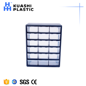 39-drawers plastic durable tool box for screws