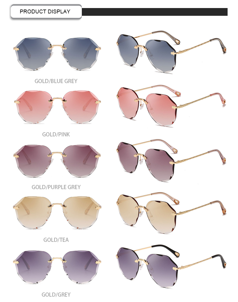 New large frame womens sunglasses factory for women-13