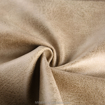 Superbe Popular Polyester Microfiber Sofa Fabric With Imitate Cotton Velvet