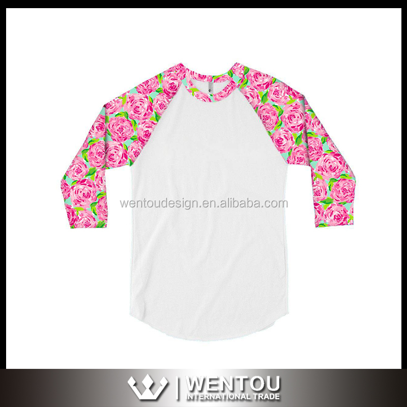 wholesale monogram vintage lilly pulitzer raglan shirts