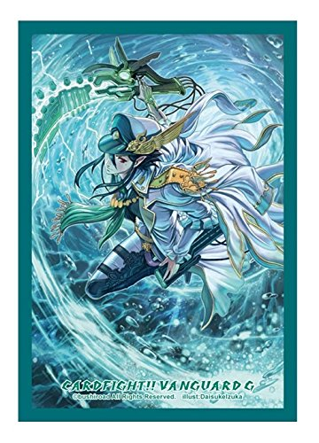 Marine General of Heavenly Silk, Lambros | Aqua Force | Bushiroad Sleeve Collection Vol 238 | Mini Small Size Card Sleeve Protector | Cardfight!! Vanguard TCG | DaisukeIzuka