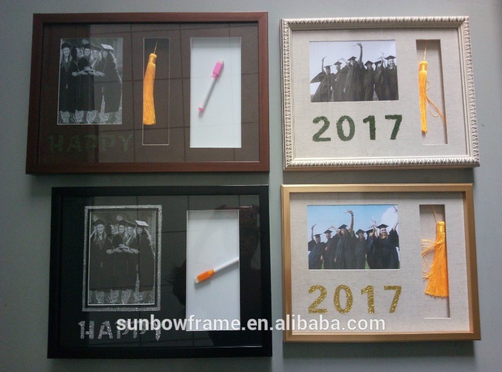 12*18 Vintage Collage Multiple Happy Graduation Photo Frame With ...