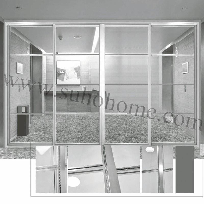 Aluminum Profile Sliding Doorglass Partition Door Buy Aluminum