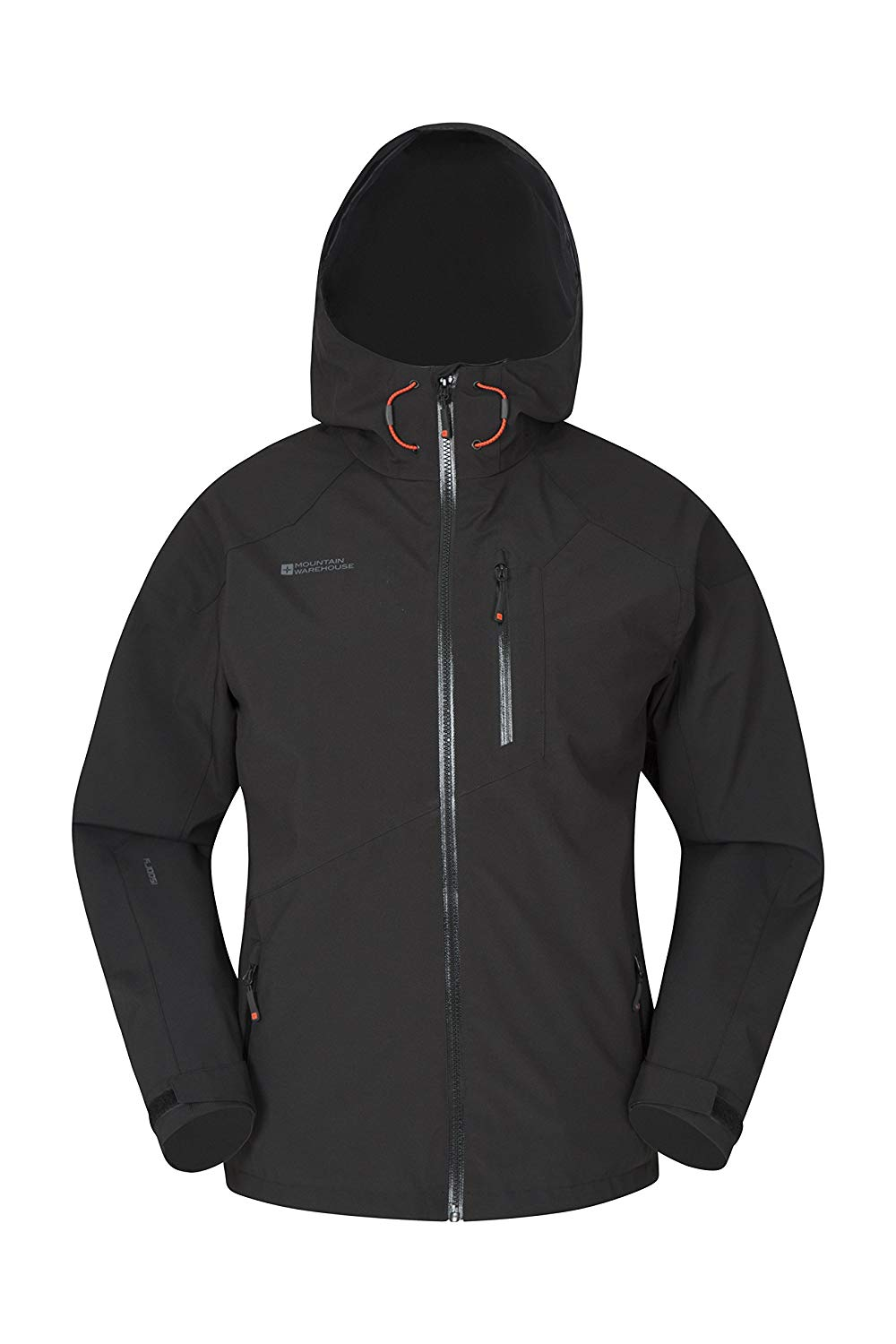 e9f6959172ab Get Quotations · Mountain Warehouse Bachill Mens Waterproof Jacket - Casual  Rain Coat